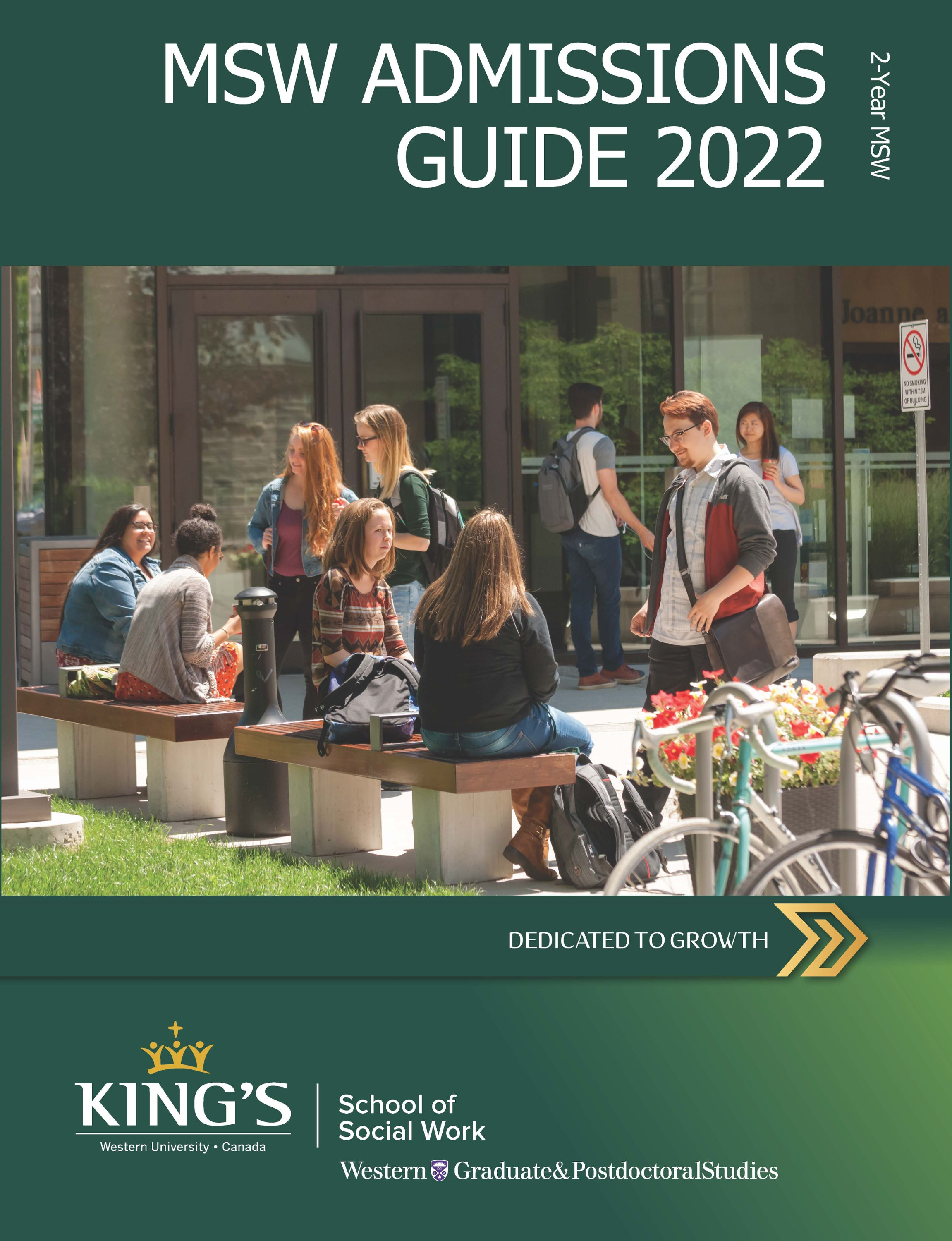 2-Year MSW Admissions Guide Download